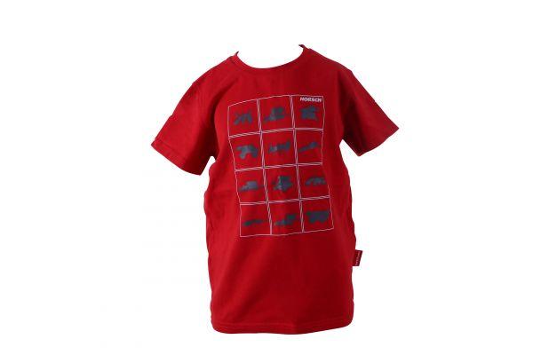 T-Shirt rot Kinder