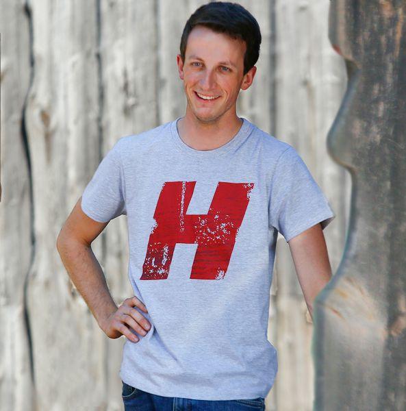 T- Shirt melange Herren